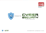 image of the mti 10 steps to cyber security guide