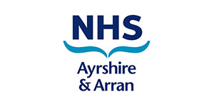 image of the NHS ayrshire and arran logo for MTI's clients